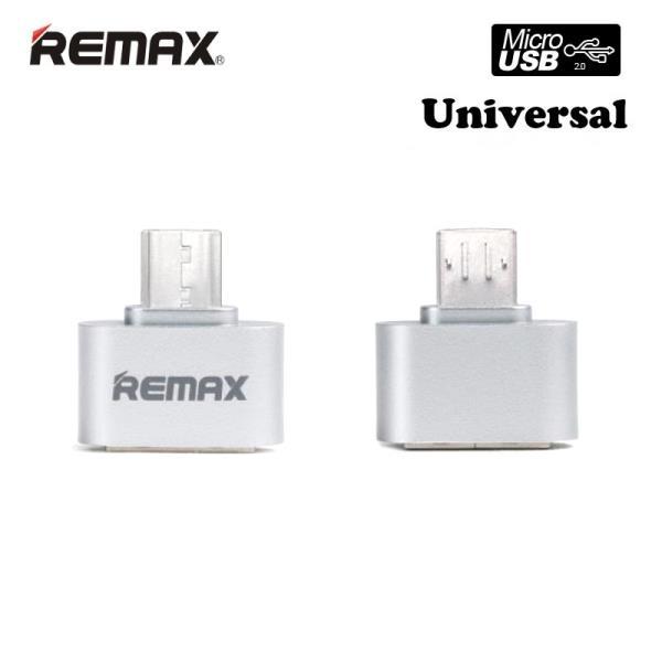 Remax Micro USB OTG Host USB Ligzdas Adapteris Micro USB Male uz USB Type A (EU Blister)