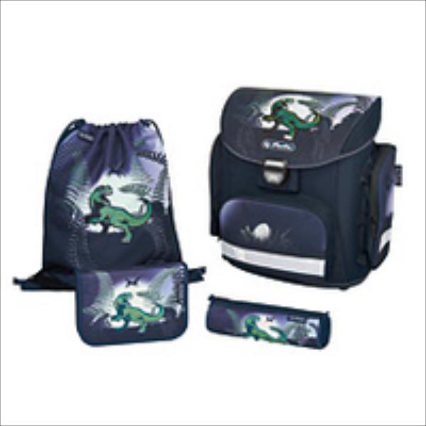 Herlitz midi plus Dino jungle 11438116 Skolas somas un penāļi