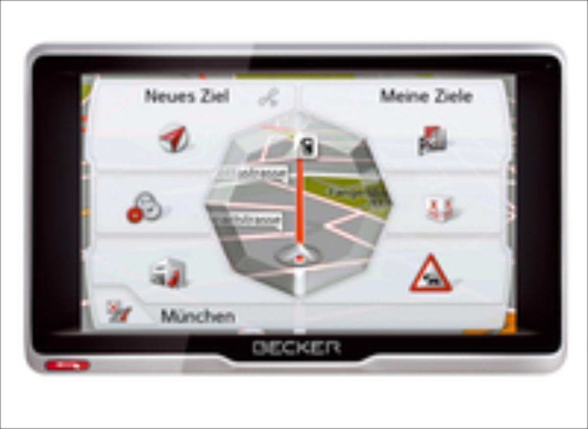 Becker active.5 CE LMU Navigācijas iekārta