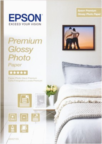 Paper Epson Premium Glossy Photo | 255g | A4 | 15sheets foto papīrs