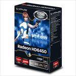 SAPPHIRE VGA PCIE16 HD6450 1GB GDDR3/11190-02-20G SML video karte