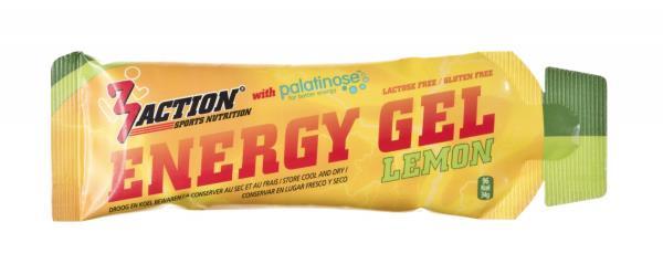 3Action Energy Gel 34g Lemon Sporta aksesuāri