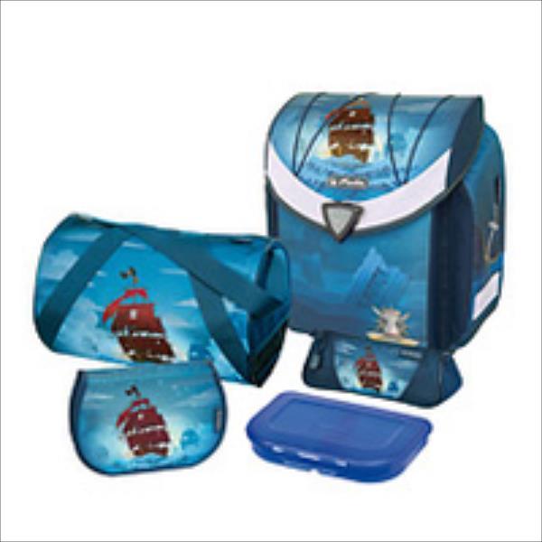Herlitz tornister flexi plus Piratebay - (11407517) Skolas somas un penāļi