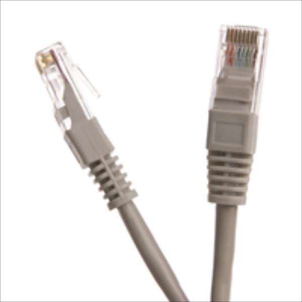 Digitalbox START.LAN Patchcord UTP cat.5e 0.25m gray tīkla kabelis