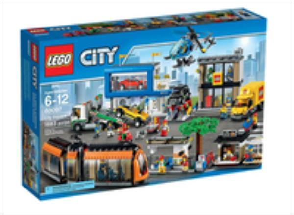LEGO City Square  60097 LEGO konstruktors