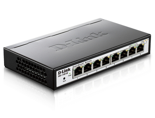 D-Link 8-Port 10/100/1000 EasySmart Switch komutators