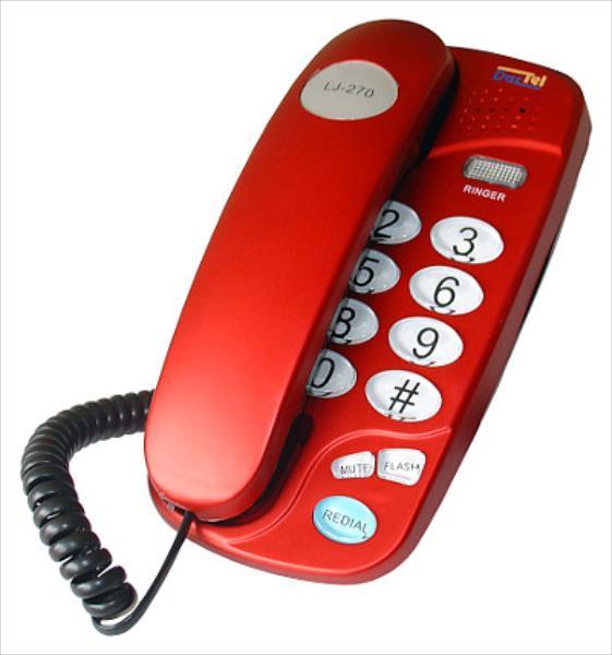 Dartel LJ-270 Red telefons