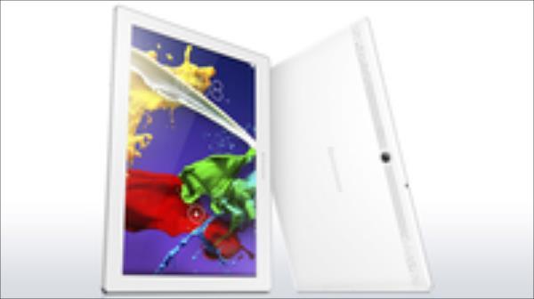 Lenovo TAB2 A10-30L 10.1'' IPS 1280x800 1.3GHz 1GB 16GB LTE BT A5.1 Balts Planšetdators
