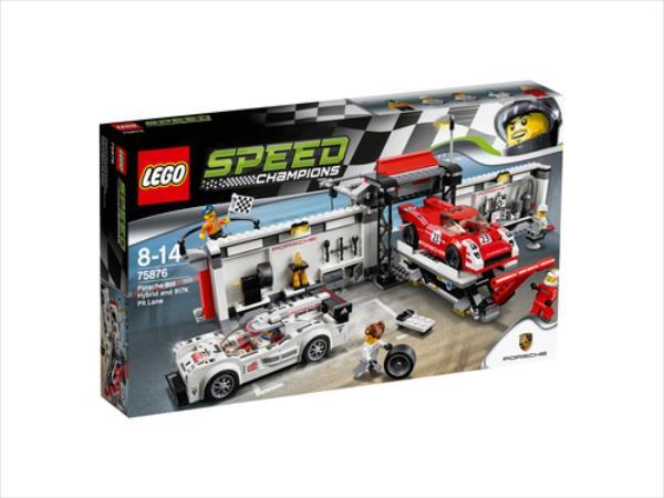 LEGO Porsche 919 Hybrid and 917K V29  75876 LEGO konstruktors