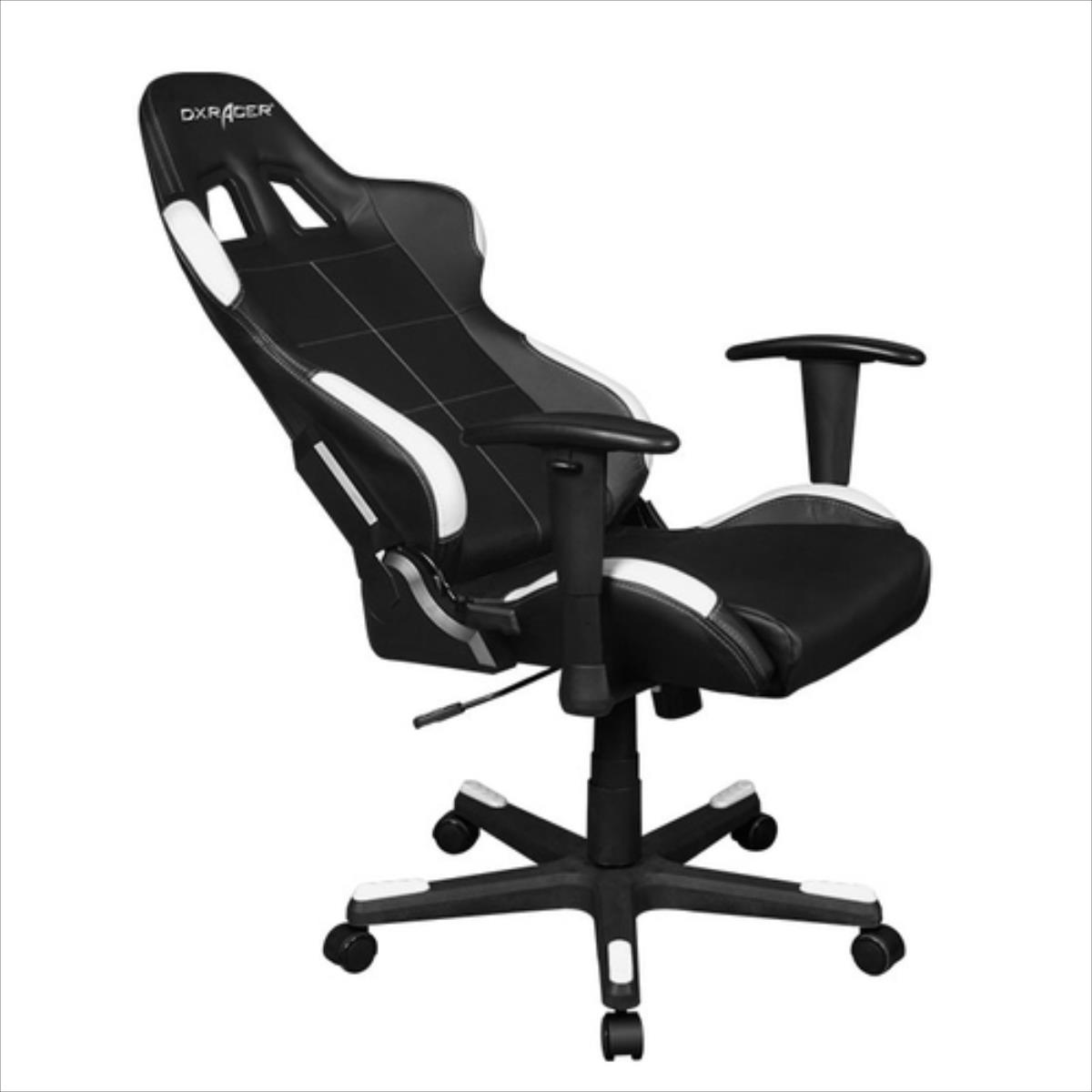 DXRacer Formula OH/FD99/NW Gaming black/white datorkrēsls, spēļukrēsls
