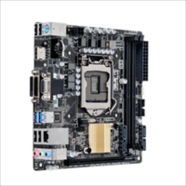 ASUS H110I-PLUS     (Intel,1151,DDR4,mITX) pamatplate, mātesplate