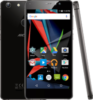Smartphone | ARCHOS | 55 Diamond Selfie | 64 GB | Black | HSDPA | WiFi | 3G | LTE | Screen  5.5