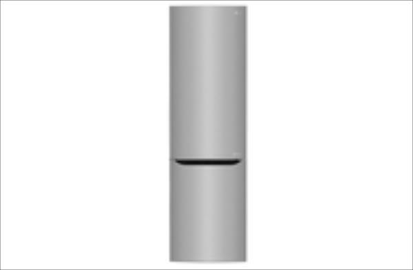 LG Freezer position Bottom-placed, Height 201 cm, A+++, Fridge net capacity 250 L, Freezer net capacity 93 L, 37 dB, Stainless steel Ledusskapis