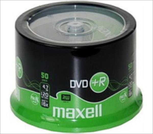 Maxell disc DVD+R 4,7 16x spindle 50 matricas