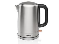 Princess 236001 Standard kettle, Stainless steel, Stainless steel, 2000 W, rotational base, 1.7 L Elektriskā Tējkanna