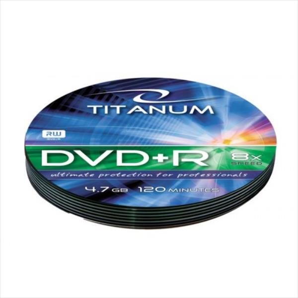 TITANUM DVD+R  [ soft pack 10 | 4.7GB | 8x ] matricas