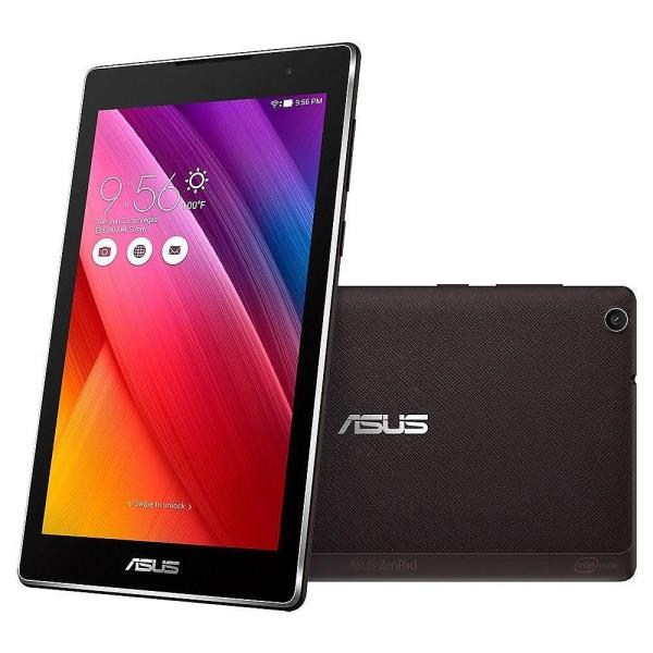 ASUS ZenPad 8.0 Z380C-1A061A Black, LED (1280x800) IPS, Intel Atom x3-C3200, 2GB, 16GB storage, WLAN802.11 b/g/n, Bluetooth 4.0, And Planšetdators
