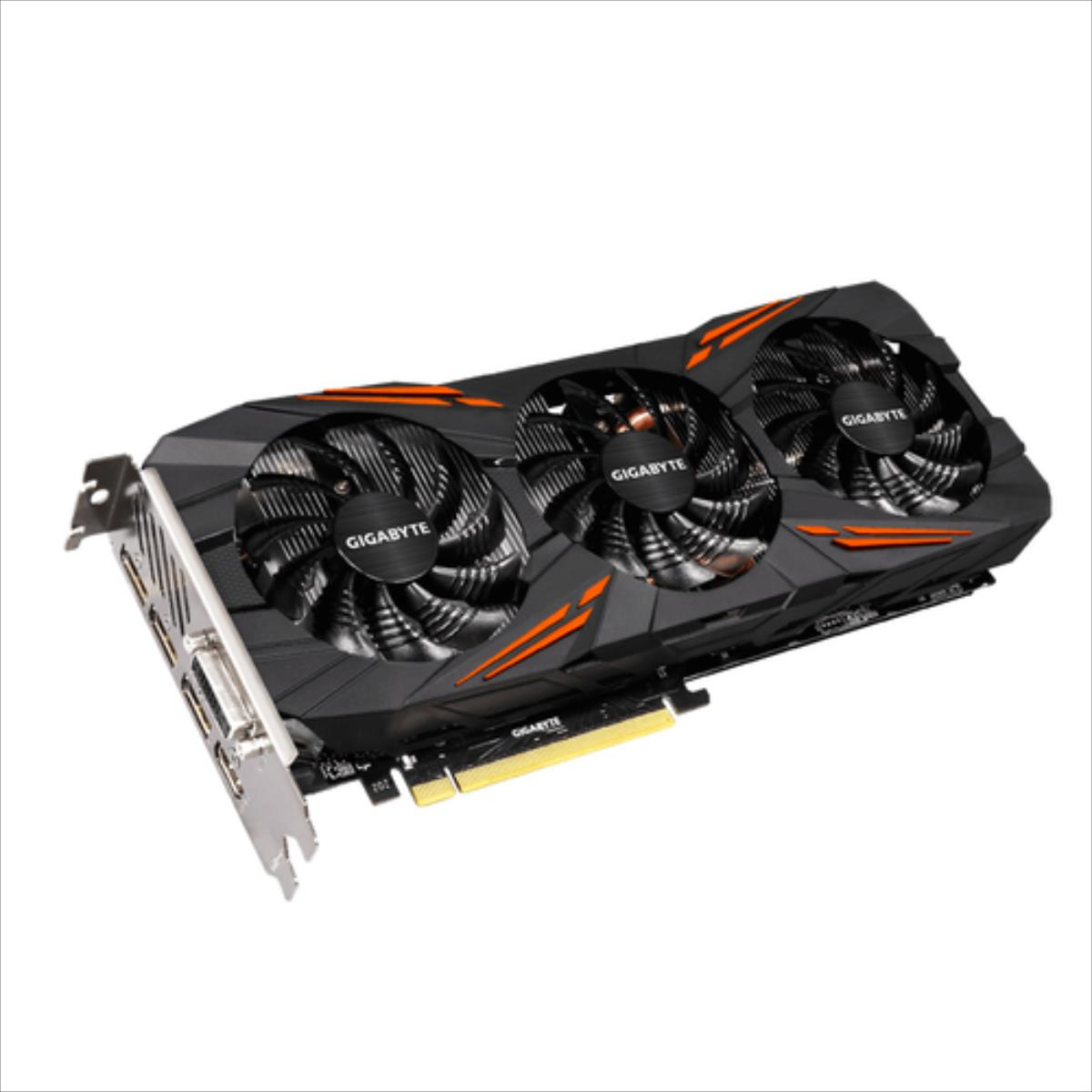 Gigabyte GeForce GTX 1070, 8GB GDDR5 (256 Bit), HDMI, DVI, 3xDP video karte