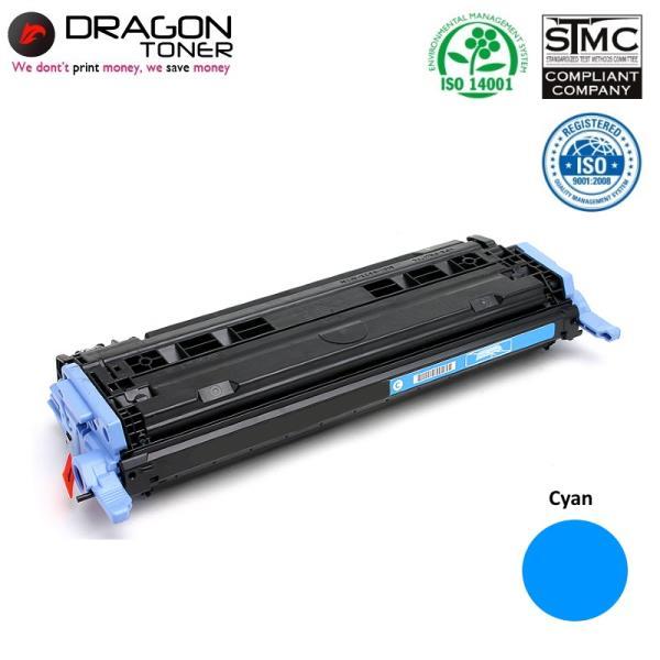 Dragon HP Q6001A / Canon CRG-707 Cyan Zila Lāzerdrukas kasete 2K Lapas HQ Premium Analogs toneris