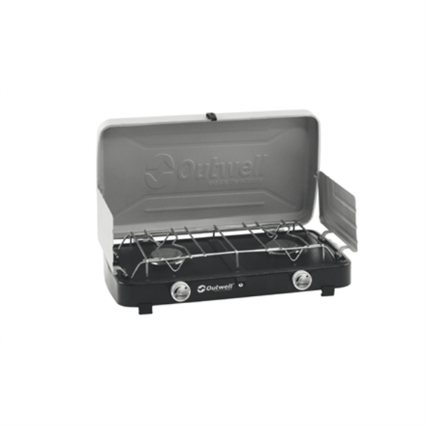 Outwell Gourmet Cooker 2-Burner Stove w/Lid