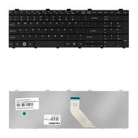 Keyboard for Fujitsu     AH530 AH531 NH751 Black aksesuārs portatīvajiem datoriem