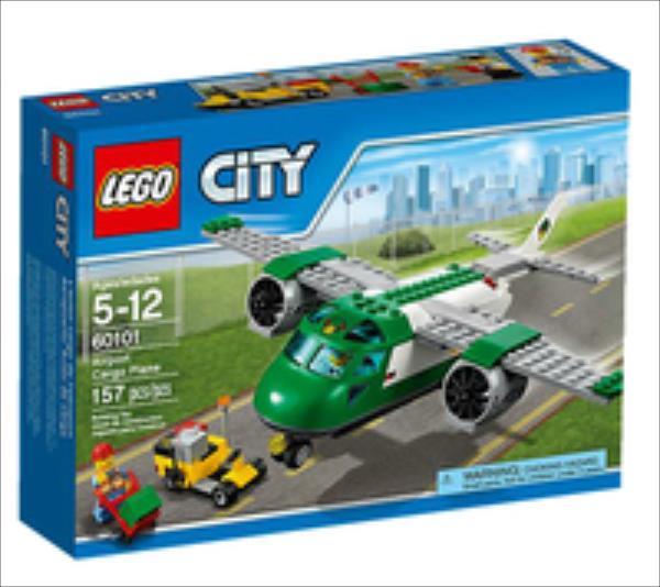 LEGO Airport Cargo Plane V29  60101 LEGO konstruktors