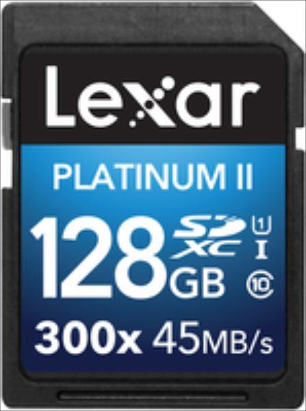 Lexar LSD128BBEU300 128GB SDXC 300X PREMIUM II C10 atmiņas karte