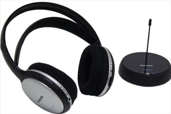 Philips SHC5100 bezvadu Black austiņas