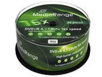 MediaRange  DVD+R 4,7GB 16x SP(50) matricas