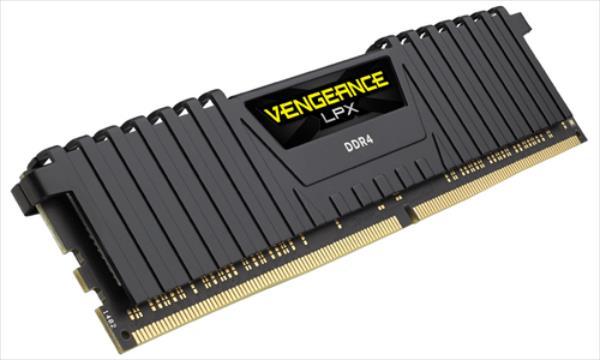 Corsair Vengeance LPX 16GB (2x8GB) DDR4 3600MHz C18 Memory Kit - Black operatīvā atmiņa