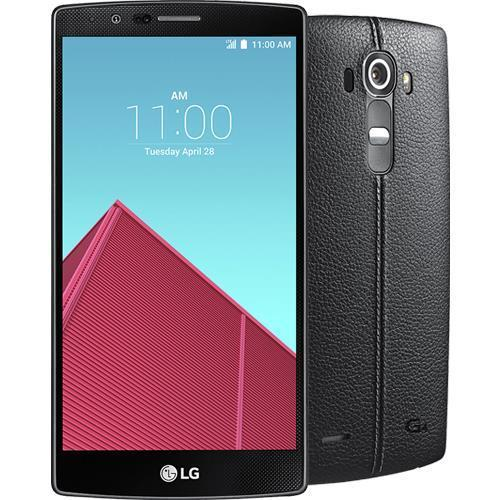 LG H818P G4 dual 32GB leather black Mobilais Telefons