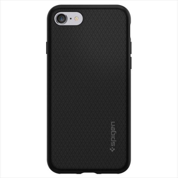 Spigen Liquid Armor iPhone 7 black maciņš, apvalks mobilajam telefonam