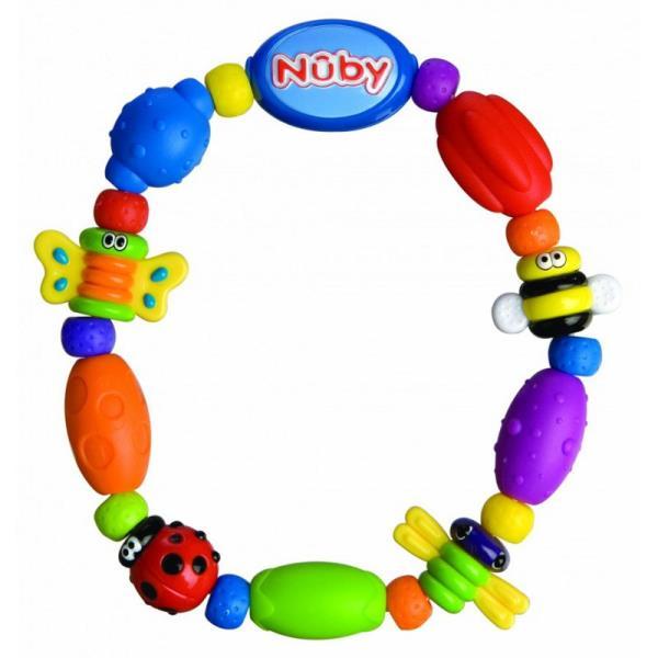 NUBY Bug-a-loop bērnu rotaļlieta