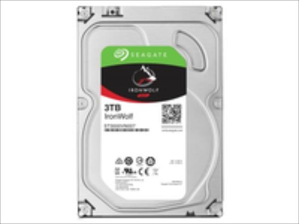 Seagate IronWolf HDD 3.5'' 3TB SATA3 5900RPM 64MB cietais disks