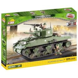 COBI KLOCKI Small Army Sherman 400 el. konstruktors