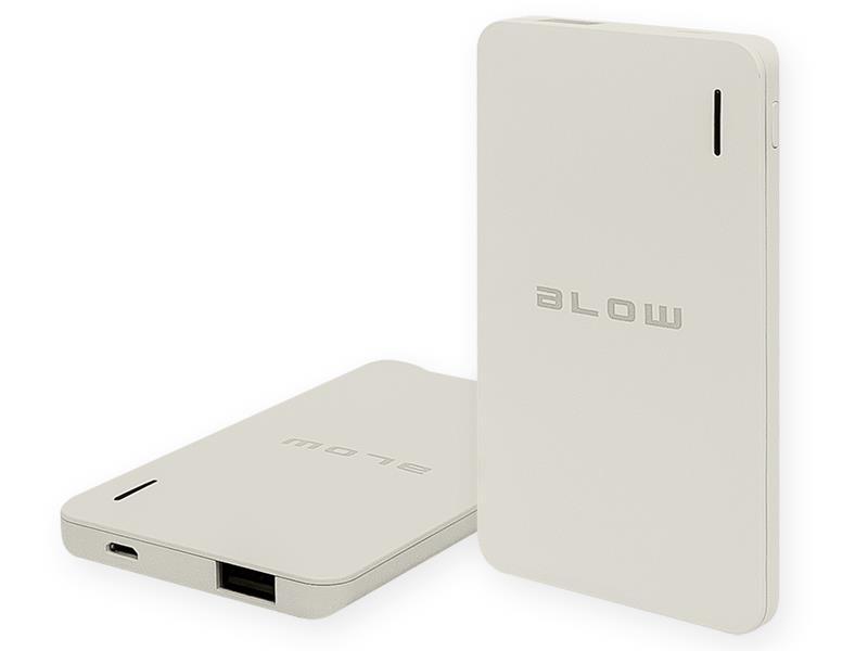 Blow Power Bank 6000mAh  1xUSB PB12 GREY Powerbank, mobilā uzlādes iekārta