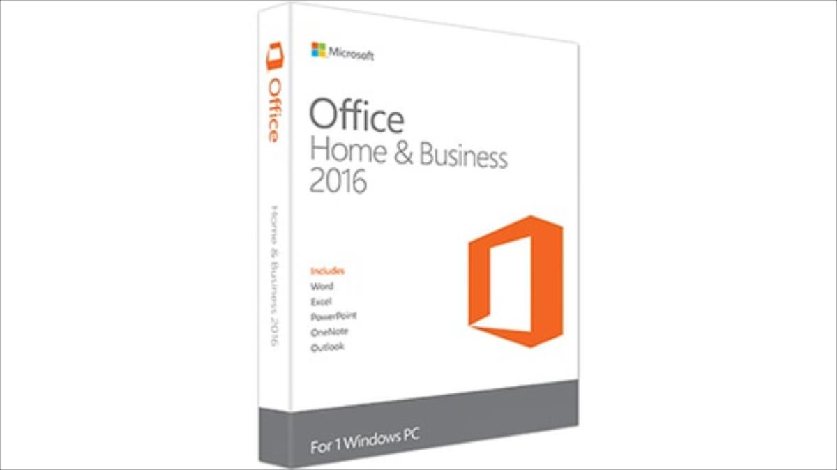Microsoft Office Home and Business 2016 Win P2 (EN) programmatūra