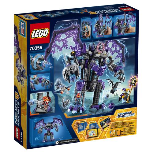 LEGO NEXO KNIGHTS 70356 The Stormy Stone Colossus LEGO konstruktors