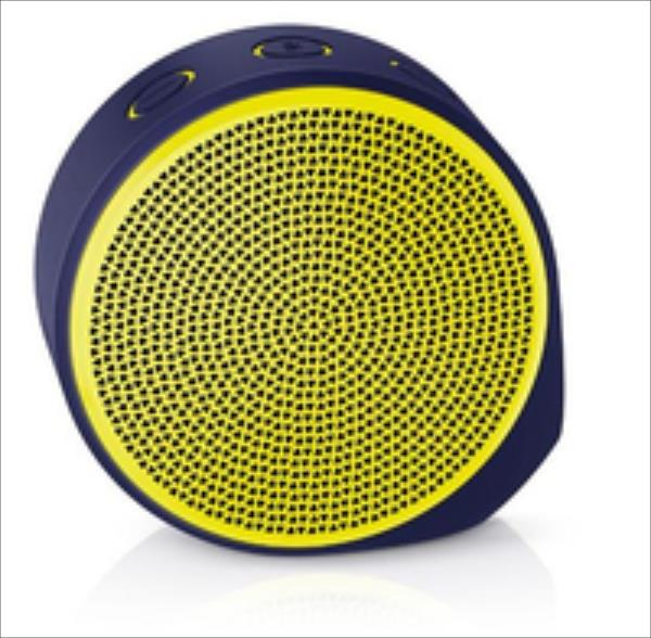 Logitech X100 Mobile Speaker Yellow datoru skaļruņi