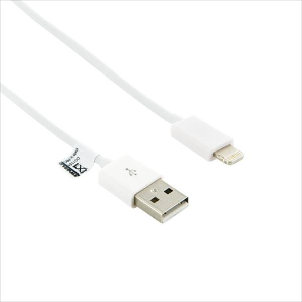 4World Cable USB to Lightning | iPhone 5/iPad 4/iPad mini | 1.0m | white aksesuārs