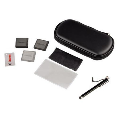 HAMA 114131 PS Vita Starter Set 8-in-1 Black spēļu aksesuārs