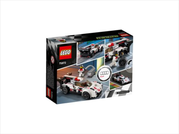 LEGO Audi R18 e-tron quattro V29  75872 LEGO konstruktors