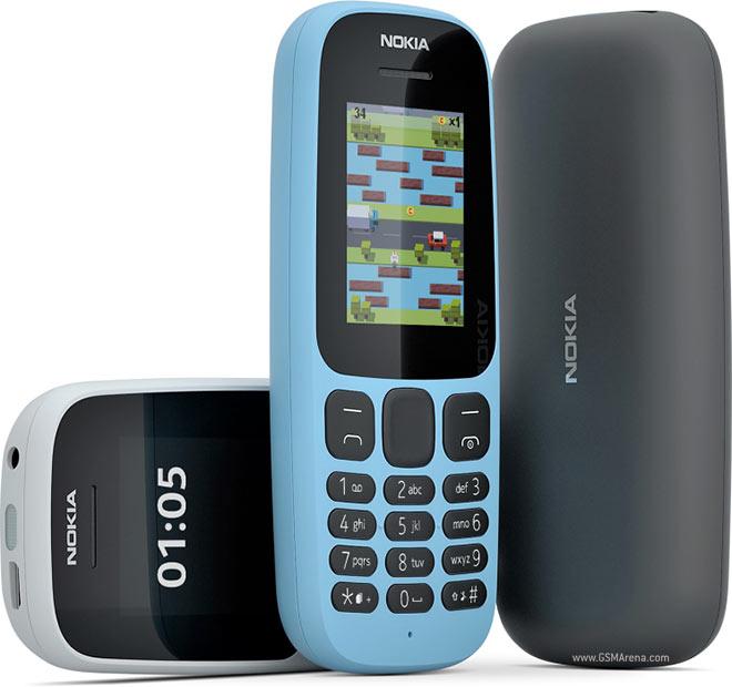 Nokia 105 Black Mobilais Telefons