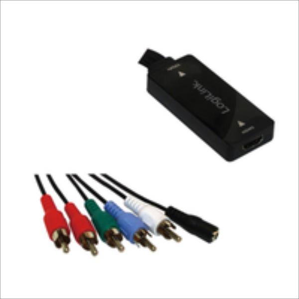 Adapter AV LogiLink HDMI to YPbPr (CV0059) adapteris