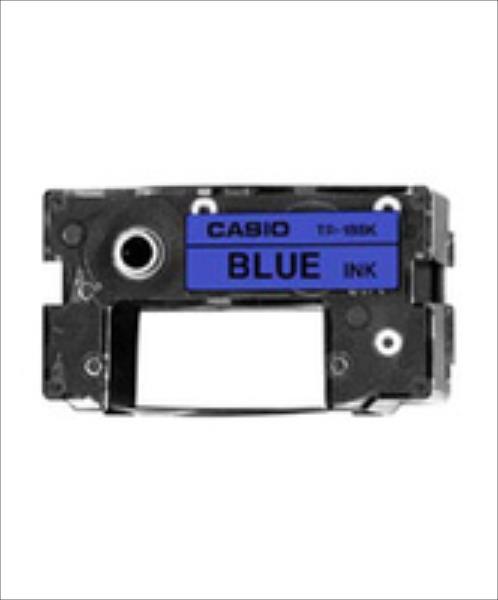 Casio TR-18 BU Ink Ribbon Kassette blue toneris
