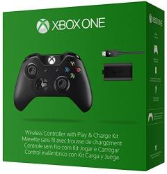 Microsoft Xbox One Wireless Controller mit Play and Charge Kit (Modell 2015) spēļu konsoles gampad