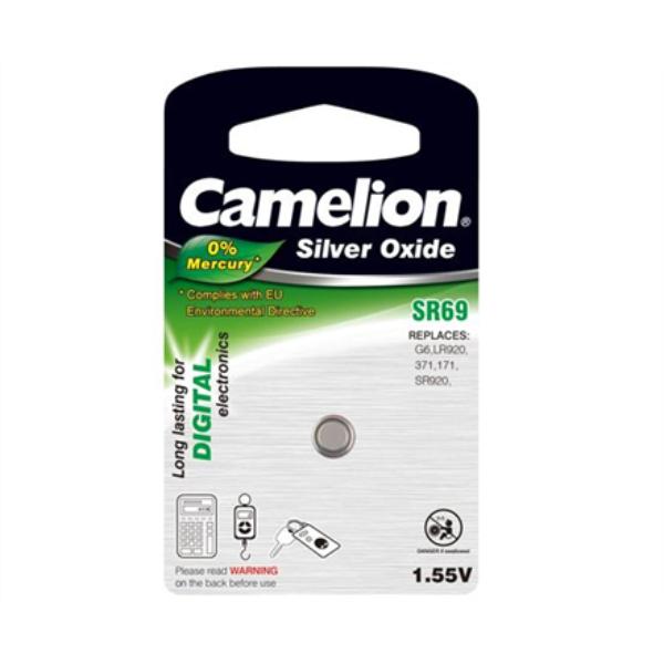 Camelion SR69W/G6/371, Silver Oxide Cells, 1 pc(s) Baterija