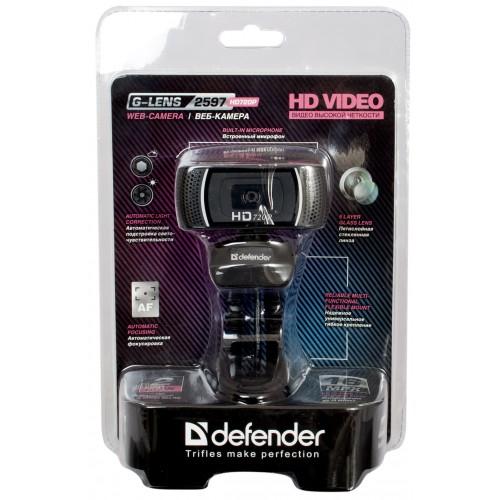 DEFENDER Web-cam G-lens 2597 HD720p web kamera