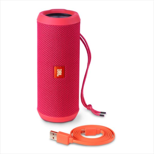 JBL FLIP 3 Bluetooth Pink bluetooth pārnēsājamais skaļrunis
