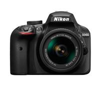 Nikon D3400 Kit black + AF-P 18-55 VR Spoguļkamera SLR